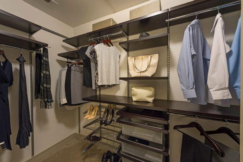 The Southmore Apartments - Closet